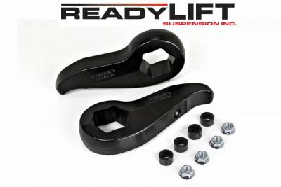 ReadyLift - ReadyLift 2.25in. FORGED TORSION KEY FRONT LEVELING KIT WITH SHOCK STEM EXTENSIONS 66-3011