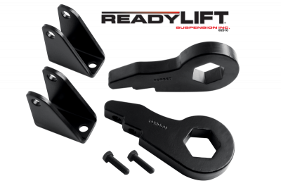 ReadyLift - ReadyLift 2.5in. FORGED TORSION KEY FRONT LEVELING KIT WITH SHOCK EXTENSIONS 66-3050