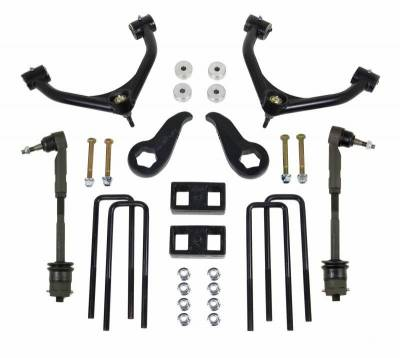 Steering And Suspension - Lift Kits/Leveling Kits - ReadyLift - ReadyLift SST LIFT KIT 4.0in. FRONT A-ARM 1.0in. REAR  KIT 69-3411