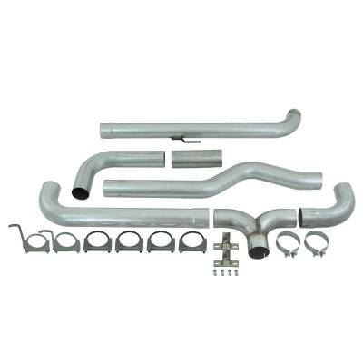 """Exhaust Systems And Components - Stacks - MBRP - MBRP Exhaust 4"""" Down Pipe Back Dual SMOKERS (incl. front pipe), AL S8000AL"""