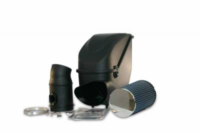 Air Intakes And Parts - Cold Air Intakes - Bully Dog - Bully Dog Rapid Flow Intake, enclosed, Molded XLPE, Enclosure and MAF tube 51103