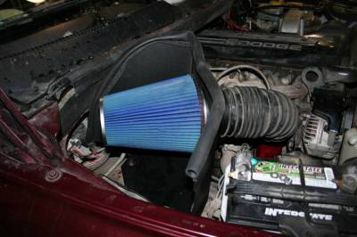 Air Intakes And Parts - Cold Air Intakes - Bully Dog - Bully Dog Rapid Flow Intake, open, powder coated steel 52100