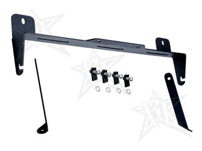 "Exhaust Systems And Components - Stacks - Rigid Industries - Rigid Industries Ford Super Duty - 2011-2013 - Front Lower Grill Bracket - 20"" E-Series 40136"