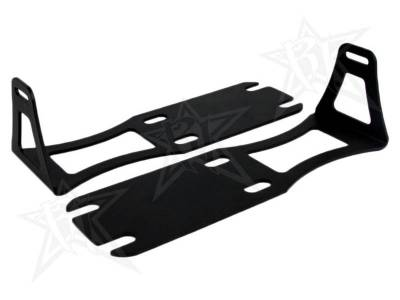 "Lighting - Off Road Lighting - Rigid Industries - Rigid Industries Dodge Ram 1500-3500 - '04-'13 - 20"" SR-Series - Lower Bumper Bracket 40240"
