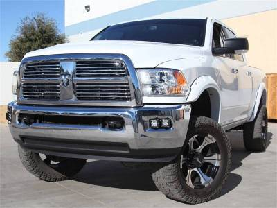 Lighting - Off Road Lighting - Rigid Industries - Rigid Industries Dodge Ram 2500 / 3500  2010-14 Fog LED Light Kit 46510