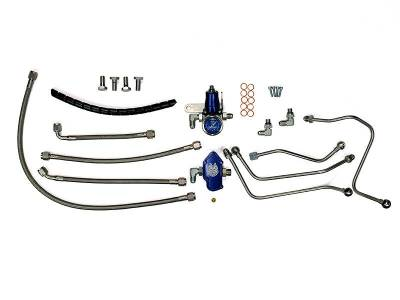 Fuel System - Injector Lines And Replacement Parts - Sinister Diesel - Sinister Diesel Sinister Diesel Regulated Fuel Return Kit for Ford 6.0L SD-FUELREG-6.0