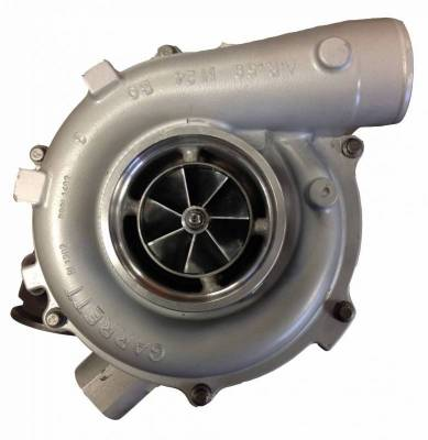 Turbos - Turbo Parts And Accessories - Fleece Performance - Fleece Performance 63mm Billet Ford 6.0L Cheetah Turbocharger FPE-6.0-VNT63-04.507-BW