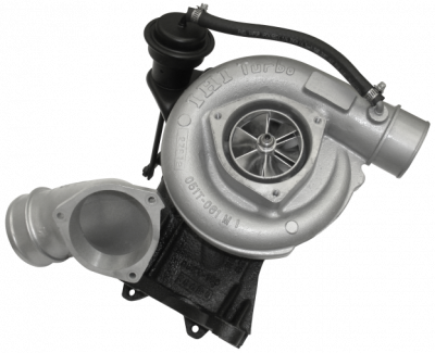 Turbos - Single Turbo - Fleece Performance - Fleece Performance 63mm Billet LB7 Cheetah Turbocharger FPE-LB7-63