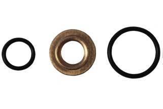 Fuel System - Injector Lines And Replacement Parts - Fleece Performance - Fleece Performance LB7 Duramax Injector Tip Seal and O-ring Kit FPE-LB7-INJ-SEAL-KIT