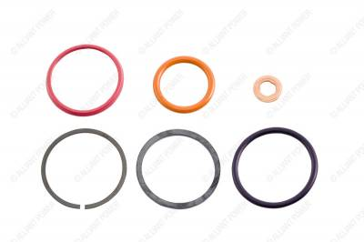 Fuel System - Injector Lines And Replacement Parts - Alliant Power - HEUI Injector Seal Kit for your 1994-2003 7.3L Power Stroke