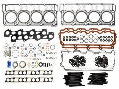 Engine Parts - Gaskets And Seals - Alliant Power - Head Gasket Kit w/ ARP Studs - Ford 6.0L 20 mm dowel