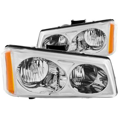 Lighting - Headlights - Anzo USA - Anzo USA Crystal Headlight Set 111010