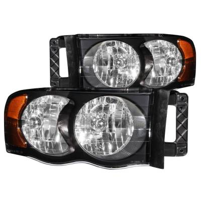 Lighting - Headlights - Anzo USA - Anzo USA Crystal Headlight Set 111022