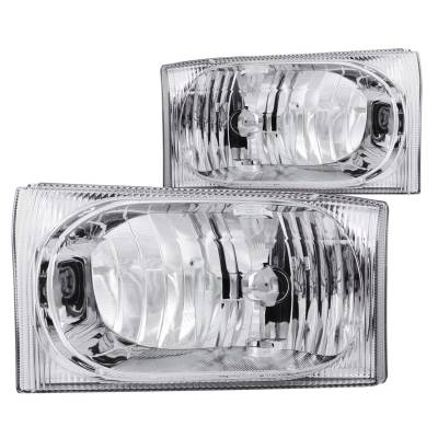 Lighting - Headlights - Anzo USA - Anzo USA Crystal Headlight Set 111023