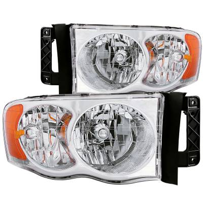 Lighting - Headlights - Anzo USA - Anzo USA Crystal Headlight Set 111076