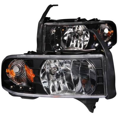 Anzo USA - Anzo USA Crystal Headlight Set 111205