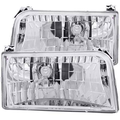 Lighting - Headlights - Anzo USA - Anzo USA Crystal Headlight Set 111247