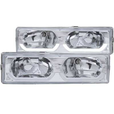 Lighting - Headlights - Anzo USA - Anzo USA Crystal Headlight Set 111300