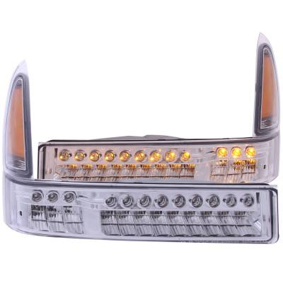 Ford/Powerstroke - Lighting - Anzo USA - Anzo USA Parking Light Assembly 511056