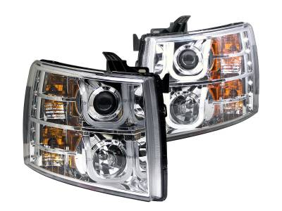 Anzo USA - Anzo USA Projector Headlight Set 111282