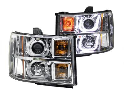 Lighting - Headlights - Anzo USA - Anzo USA Projector Headlight Set 111283