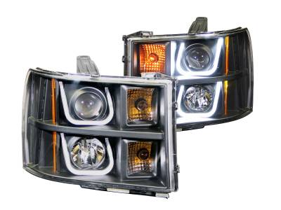 Lighting - Headlights - Anzo USA - Anzo USA Projector Headlight Set 111284