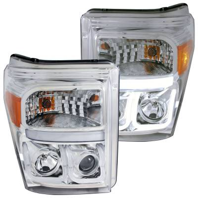 Lighting - Headlights - Anzo USA - Anzo USA Projector Headlight Set 111291