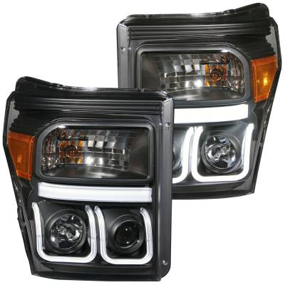 Lighting - Headlights - Anzo USA - Anzo USA Projector Headlight Set 111292