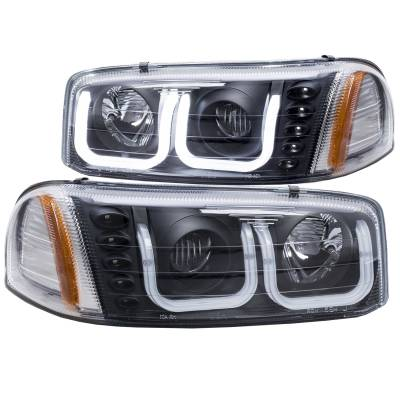 Lighting - Headlights - Anzo USA - Anzo USA Projector Headlight Set 111303