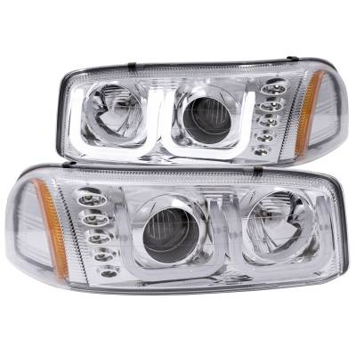 Lighting - Headlights - Anzo USA - Anzo USA Projector Headlight Set 111304