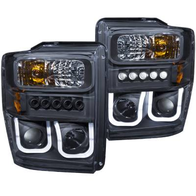 Lighting - Headlights - Anzo USA - Anzo USA Projector Headlight Set 111305
