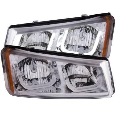 Lighting - Headlights - Anzo USA - Anzo USA Projector Headlight Set 111313
