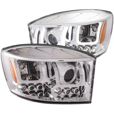 Anzo USA - Anzo USA Projector Headlight Set 111315