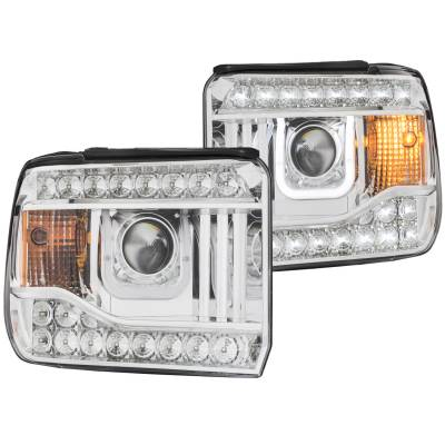 Lighting - Headlights - Anzo USA - Anzo USA Projector Headlight Set 111317
