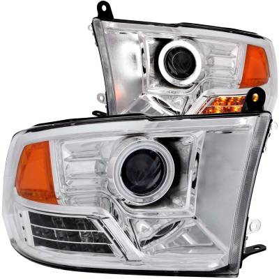 Anzo USA - Anzo USA Projector Headlight Set; w/Halo 111160