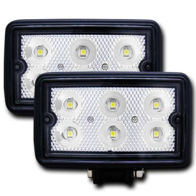 Lighting - Off Road Lighting - Anzo USA - Anzo USA Rugged Vision; LED Fog Light 881001