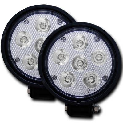 Lighting - Off Road Lighting - Anzo USA - Anzo USA Rugged Vision; LED Fog Light 881002