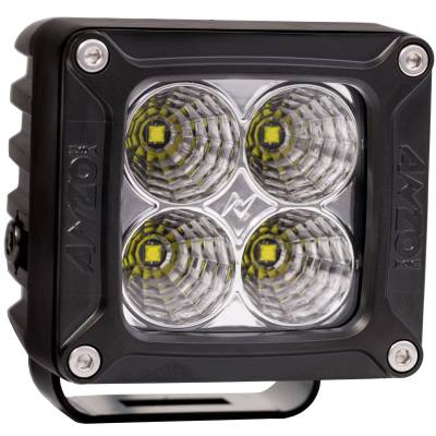 Lighting - Off Road Lighting - Anzo USA - Anzo USA Rugged Vision; Off Road LED Flood Light 881052