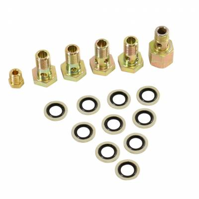 Fuel System - Injector Lines And Replacement Parts - BD Diesel - BD Diesel Banjo Bolt Upgrade Kit - 1999 Dodge 1050215