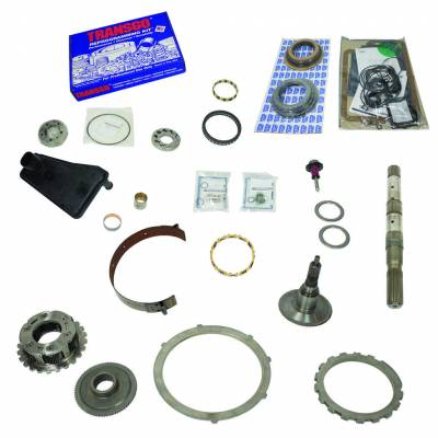 Transmission - Transmission Overhaul Kits And Parts - BD Diesel - BD Diesel Built-It Trans Kit Ford 1990-1994 E4OD Stage 4 Master Rebuild Kit 4wd 1062104-4
