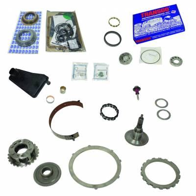 Transmission - Transmission Overhaul Kits And Parts - BD Diesel - BD Diesel Built-It Trans Kit Ford 1995-1997 E4OD Stage 4 Master Rebuild Kit 2wd 1062114-2