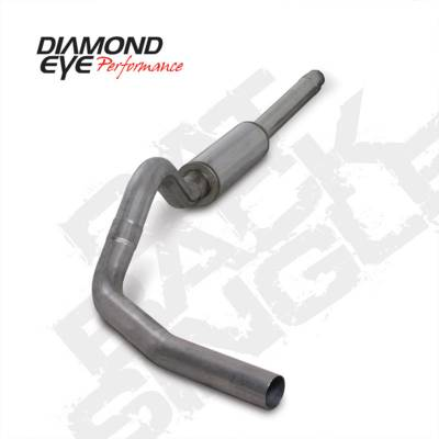 Exhaust Systems And Components - Exhaust Systems - BD Diesel - BD Diesel Exhaust Kit 4in Cat-Back Dual 409 Stainless - Ford 1994-1997 7.3L F250/F350 DIA-K4310S