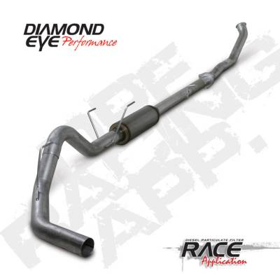 Exhaust Systems And Components - Exhaust Systems - BD Diesel - BD Diesel Exhaust Kit 4in Turbo-Back Aluminized - Dodge 2007.5-2011 6.7L 2500/3500 DIA-K4240A