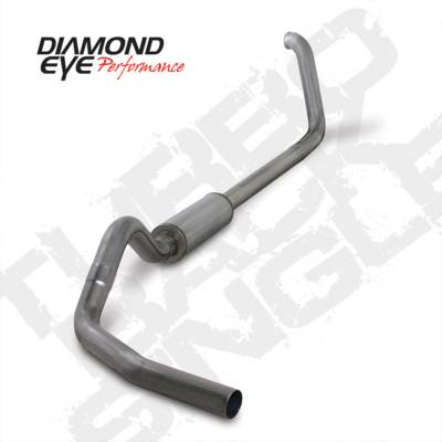 Exhaust Systems And Components - Exhaust Systems - BD Diesel - BD Diesel Exhaust Kit 4in Turbo-Back Single 409 Stainless - Ford 1999-2003 7.3L F250/F350 DIA-K4318S