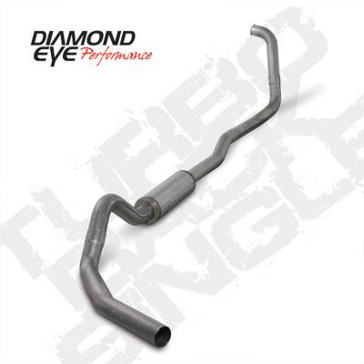 Exhaust Systems And Components - Exhaust Systems - BD Diesel - BD Diesel Exhaust Kit 4in Turbo-Back Single 409 Stainless - Ford 2003-2007 6.0L F250/F350 DIA-K4346S