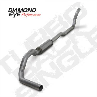 Exhaust Systems And Components - Exhaust Systems - BD Diesel - BD Diesel Exhaust Kit 4in Turbo-Back Single Aluminized Dodge 1989-1993 5.9L 2500/3500 2wd DIA-K4209A