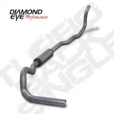 Exhaust Systems And Components - Exhaust Systems - BD Diesel - BD Diesel Exhaust Kit 4in Turbo-Back Single Aluminized Dodge 1989-1993 5.9L 2500/3500 4wd DIA-K4211A