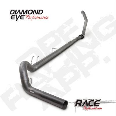 Exhaust Systems And Components - Exhaust Systems - BD Diesel - BD Diesel Exhaust Kit 5in Turbo-Back Single 409 SS Off-Road Ford 2011-2015 6.7L No-Bungs DIA-K5374S