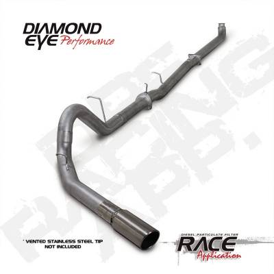 Exhaust Systems And Components - Exhaust Systems - BD Diesel - BD Diesel EXHAUST KIT, Stainless Turbo Back Off-Road - Chevy 2007.5-2010 2500/3500 Duramax DIA-K4144S