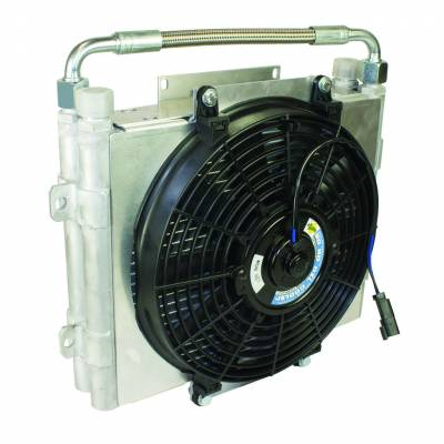 Transmission - Transmission Coolers And Lines - BD Diesel - BD Diesel Xtrude Trans Cooler - Double Stacked (No Install Kit) 1300601-DS